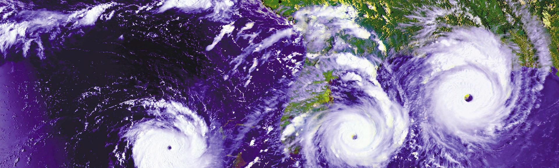 Ölümcül Kasırgaların İçinde