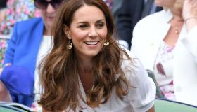 Wimbledon'da ünlüler sahaya indi