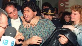 Diego Maradona: Futbol yıldızının skandalları