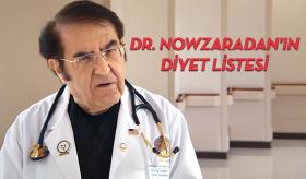 Dr. Nowzaradan'ın Diyet Listesi