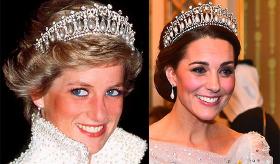 Prenses Diana'dan Kate Middleton'a ihtişamlı miras