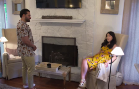 Shekeb ve Emily ev bakıyor