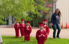 Beşizlerin kreş mezuniyeti