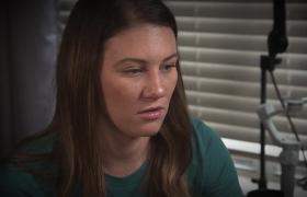 Doktor Danielle'ın durumunu anlatıyor