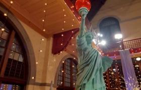 Özgürlük Heykeli pastasını nasıl yaptılar?