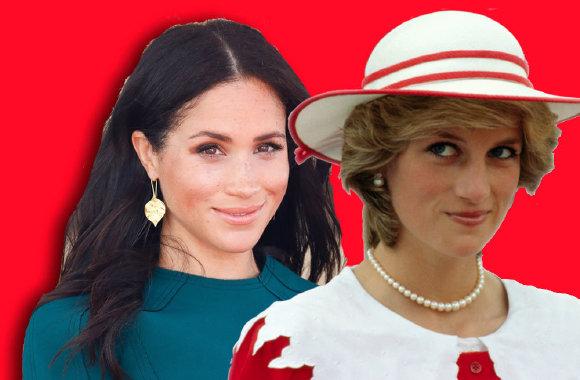 Meghan Markle ve Prenses Diana'nın 6 ortak özelliği