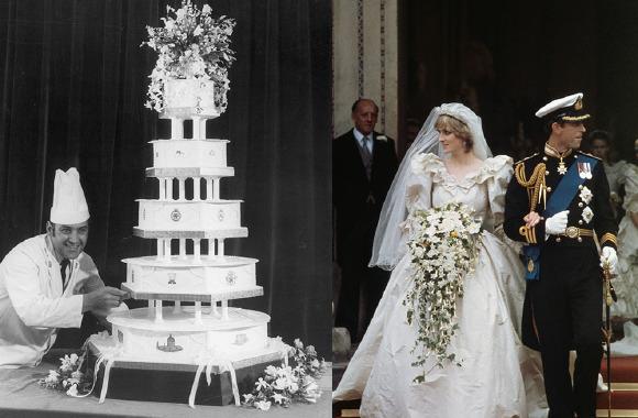 Kraliyet düğünlerinin ihtişamlı 7 pastası