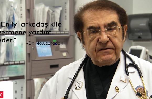 Dr. Nowzaradan'dan yeni yılda kilo vermenizi sağlayacak sözler