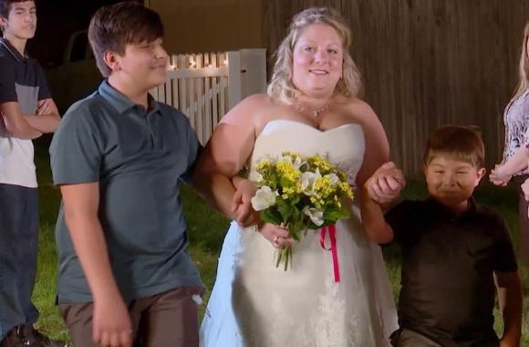 Anna ve Mürsel evleniyor