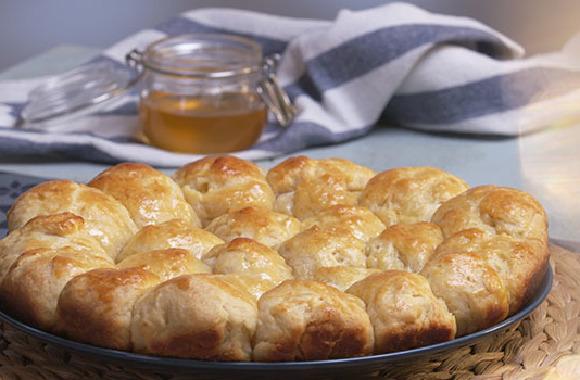 Yumuşacık tatlı ekmek