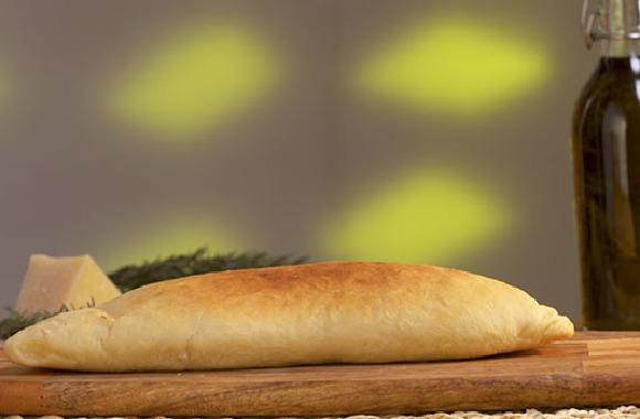 Peynirli mantarlı kapalı pide