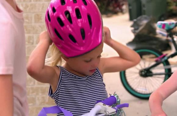 İlk bisiklet heyecanı