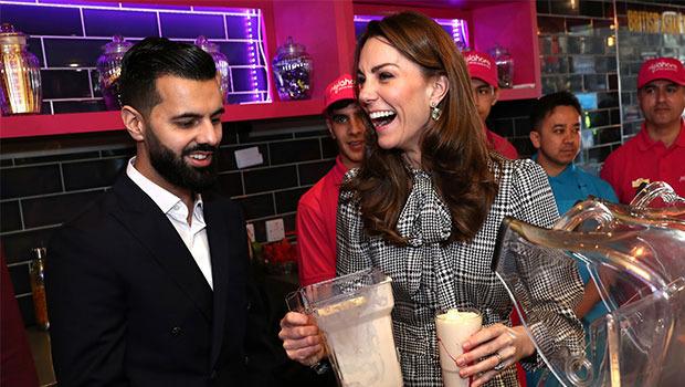 Kate Middleton'ın romantik anları