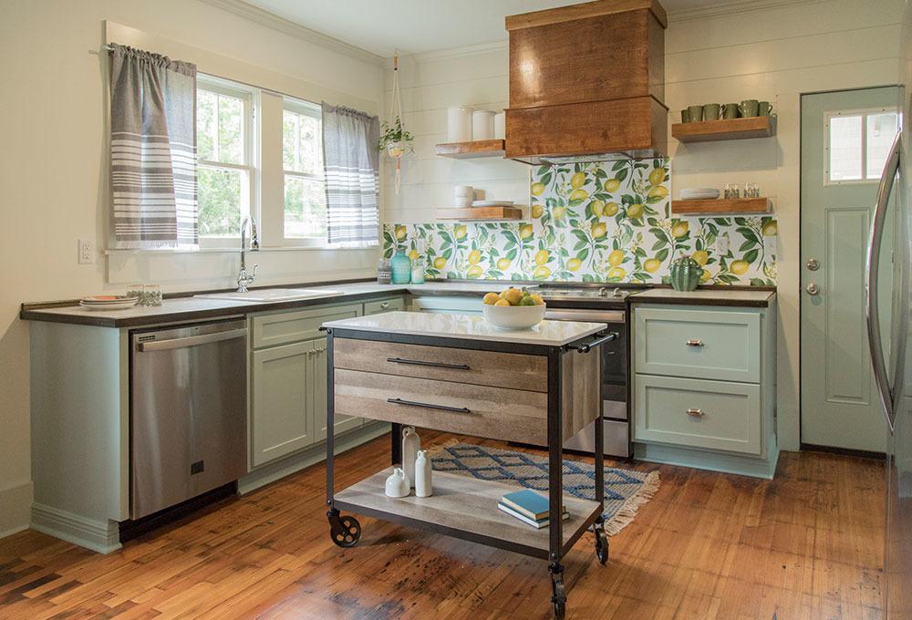 Mutfak tadilatlarının öncesi ve sonrası