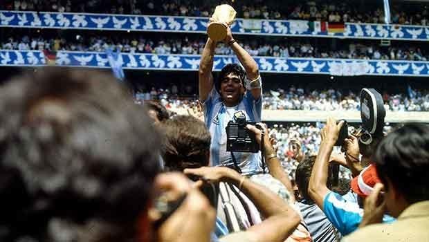 Efsane fotoğrafın ardındaki hikaye: Maradona