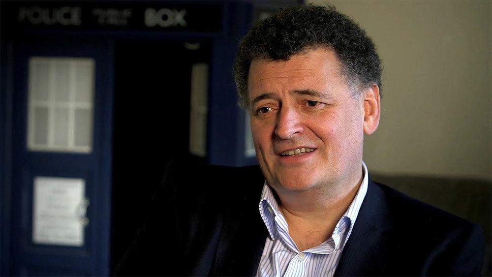 Doctor Who'nun yapımcı ve baş yazarı Steven Moffat