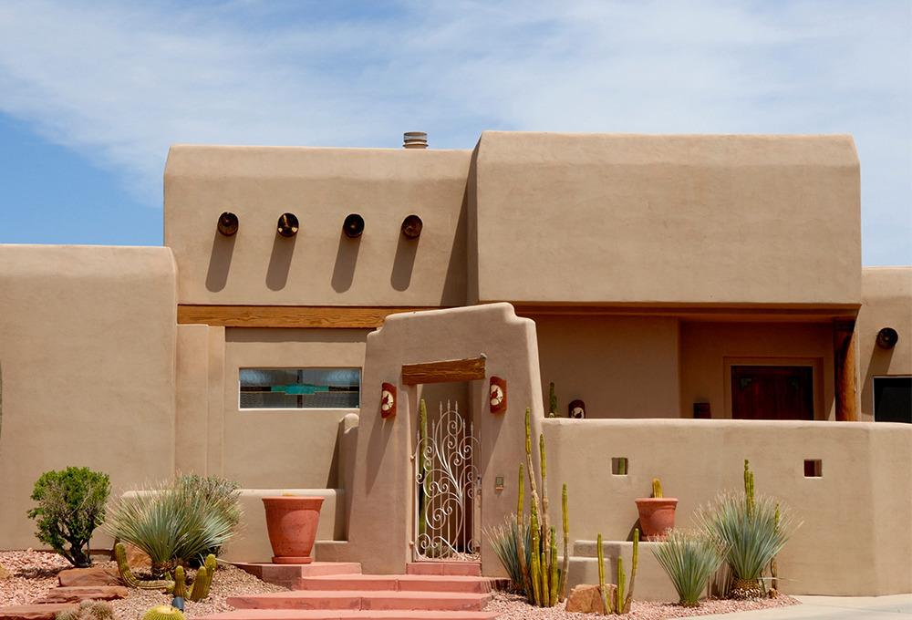 En güzel Meksika evleri
